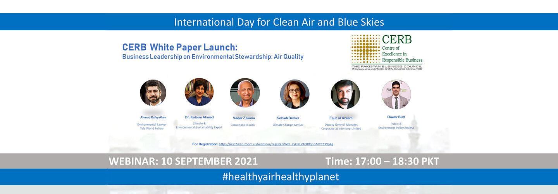 Business Leadership in Environmental Stewardship: Air Quality