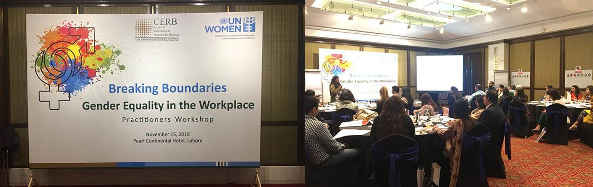 Breaking Boundaries: Gender Equality in the Workplace by signing the WEPs