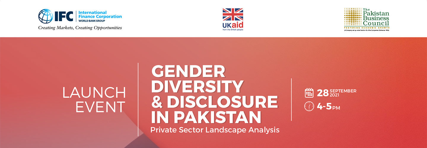 Report Launch of Gender Diversity and Disclosure in Pakistan